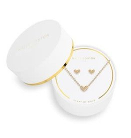 Katie Loxton Sentiment Set- Heart of Gold
