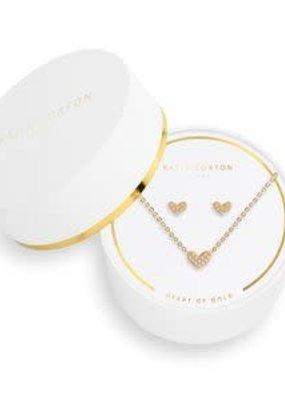 Katie Loxton Sentiment Set- Heart of Gold