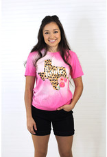 Pink Armadillos Cheetah Rose Home Tee