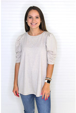 Macaron French Terry Top