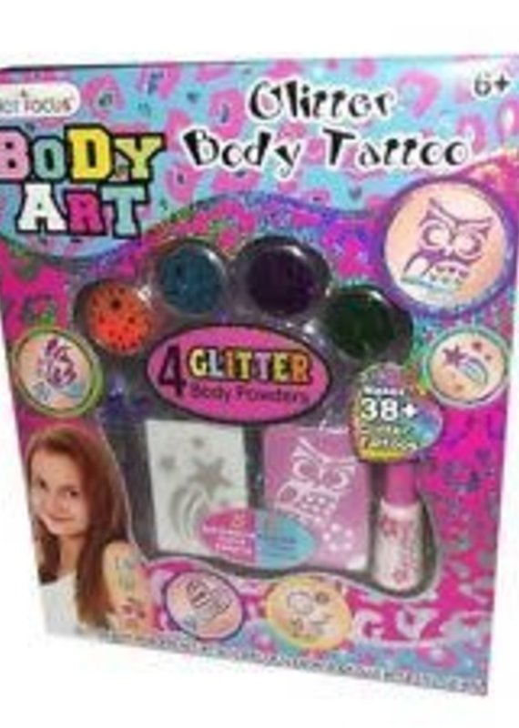 Hot Focus, Inc. Body Art-Glitter Body Tattoo