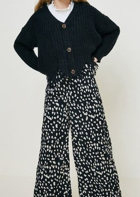 Hayden Los Angeles Dotted Wide Leg Pant