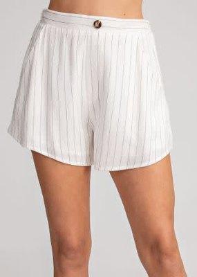 Glam LA Striped Shorts