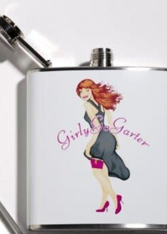 Girly Go Garters Girly Go Garter Flask WH