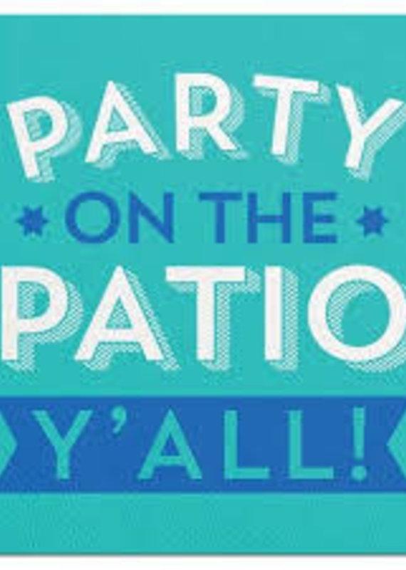 Slant Party on The Patio Napkins