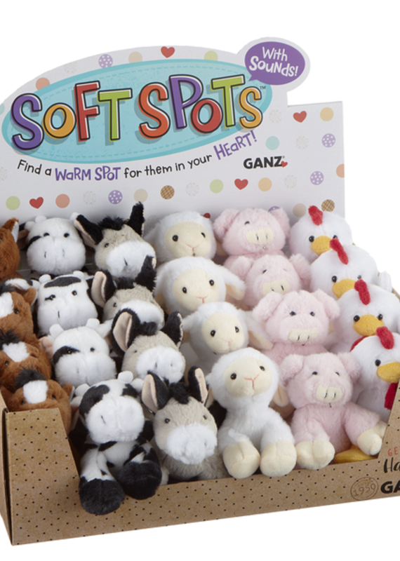 Ganz USA LLC Soft Spots Farm