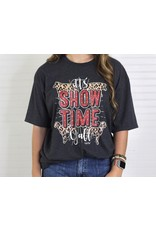 Rebel Rose It's Show Time Y'all Size XL Gray