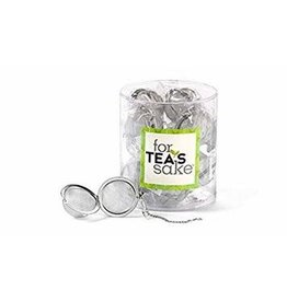 For Tea's Sake Stainless Steel Tea Steep Balls