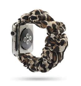Ethel and Myrtle Inc Scrunchie Watch Band Cheetah