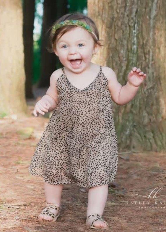 Bailey's Blossoms Savanah Sun Dress-Safari