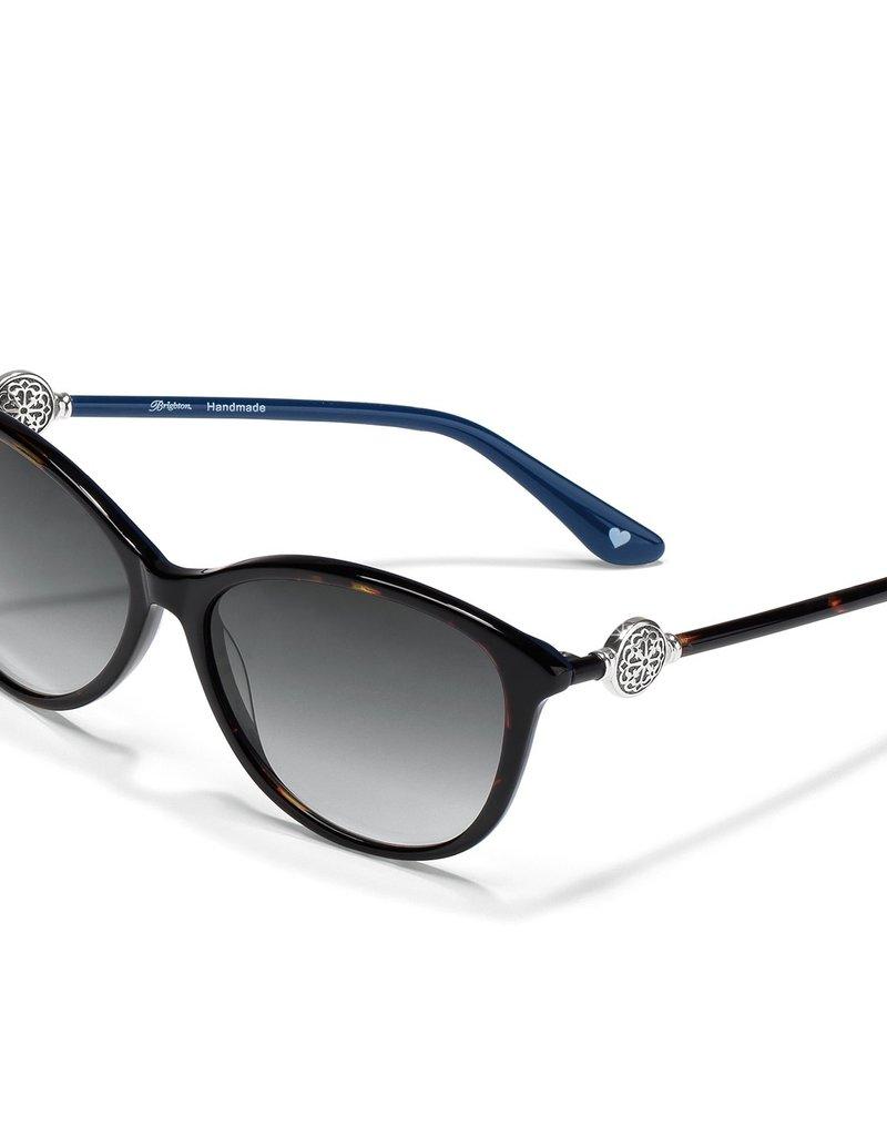 Brighton Ferrar BLK/WHT Sunglasses