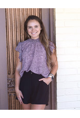 Ee:some Blush Leopard Top