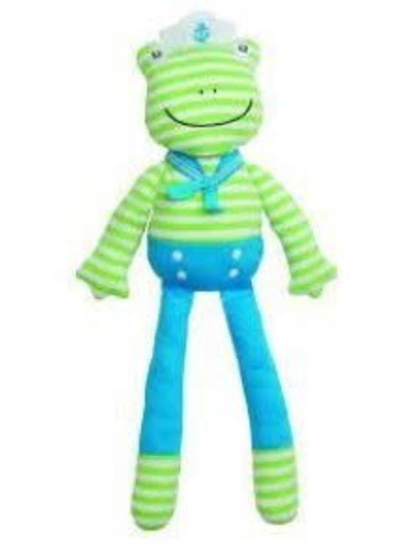 "Apple Park Skippy The Frog 14"" Plush Toy"