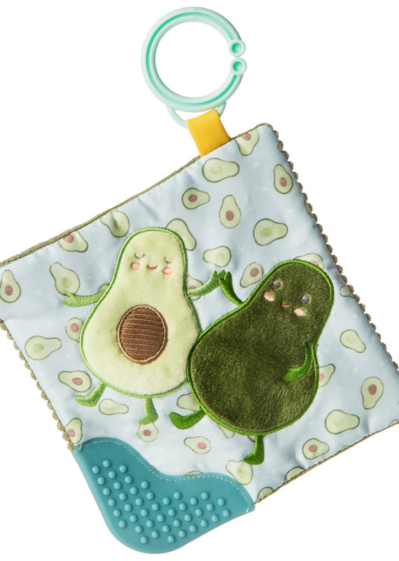 Mary Meyer Yummy Avocado Crinkle Teether