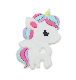 LouLou Lollipop Silicone Teether-Unicorn