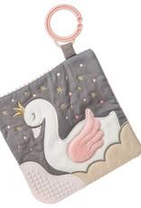 Mary Meyer Glitzy Swan Crinkle Teether