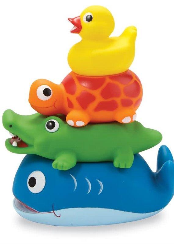 Mud Pie Stackable Rubber Bath Toys