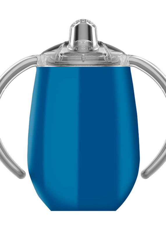 True North 8oz Sippy Cup-Sport Blue