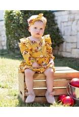 Rufflebutts Golden Gardenia Headband