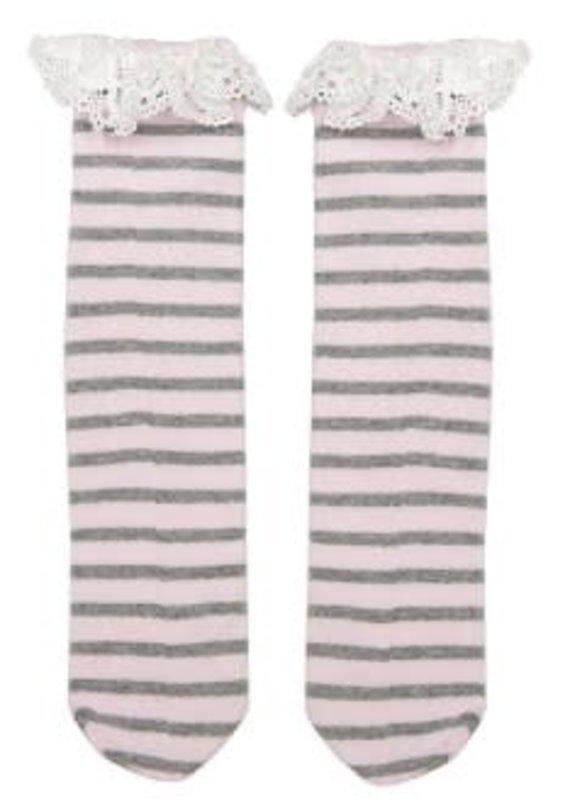 Ganz USA LLC Boot Cuff Socks-Stripes