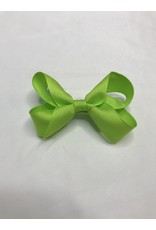 Beyond Creations Crossgrain Medium Bows-Lime Green
