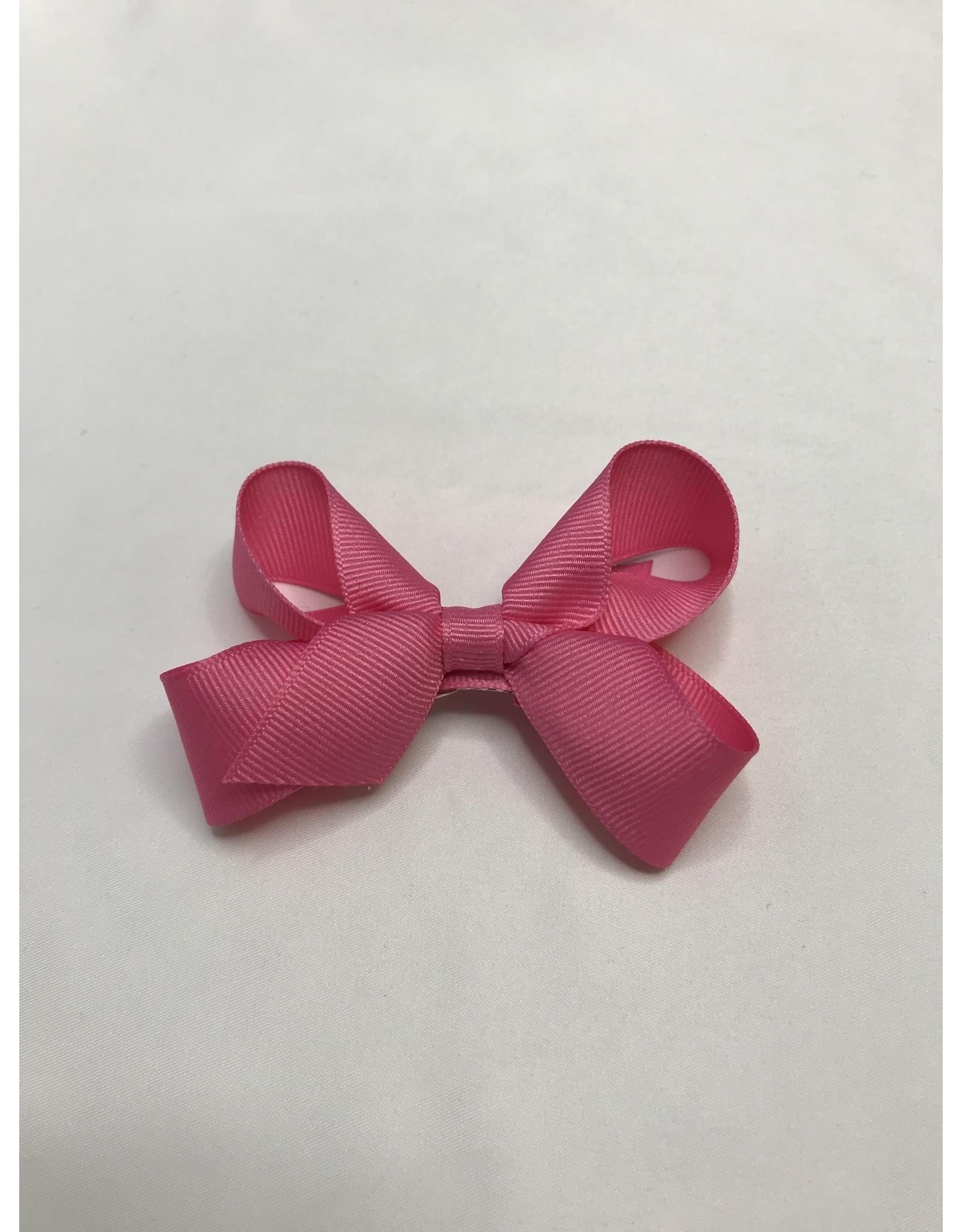 Beyond Creations Crossgrain Medium Bows-Dark Pink
