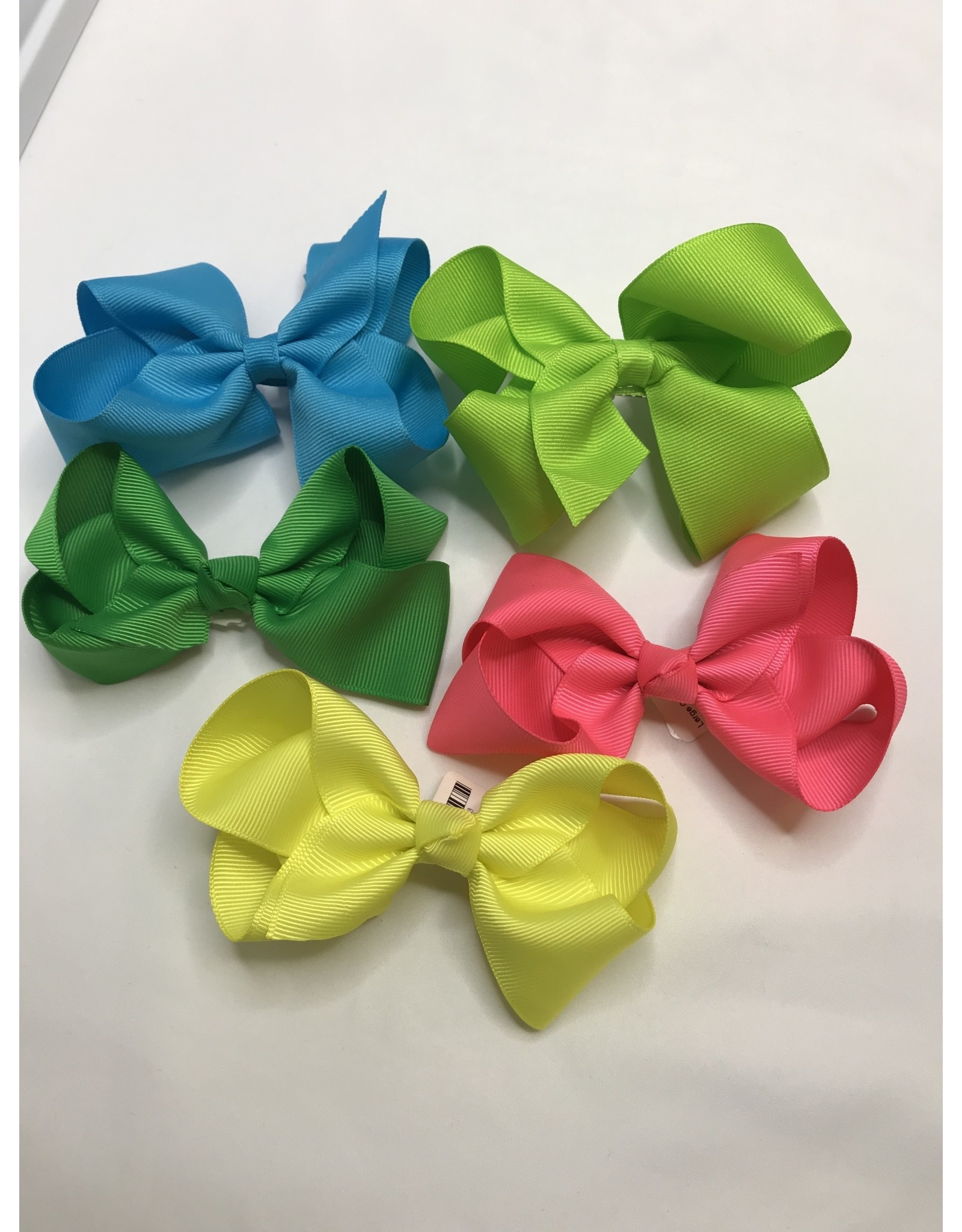 """Beyond Creations Large Classic Bows 4.5""""-Pastels"""