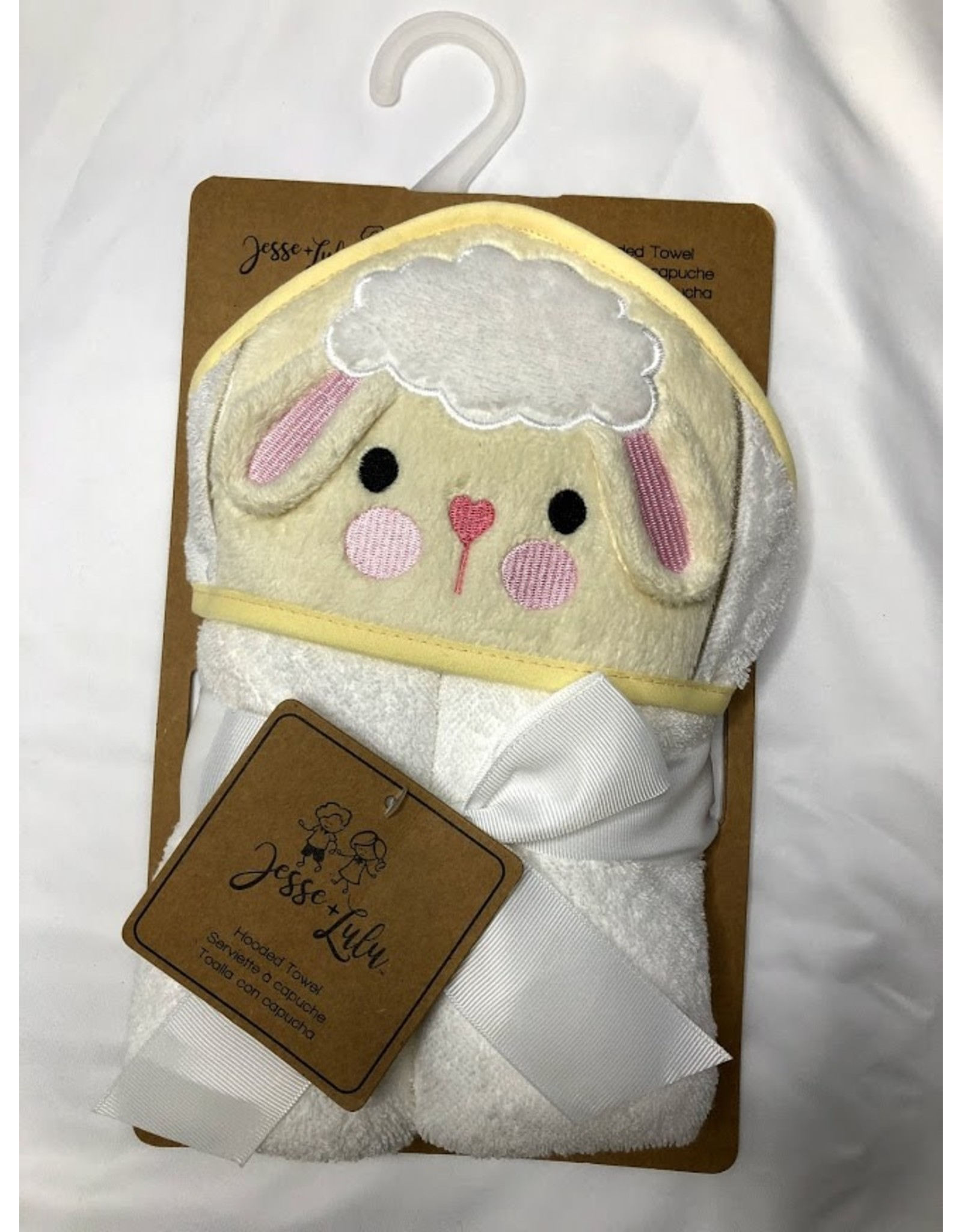 Rose Textiles Jesse-Lulu Animal Hooded Towel