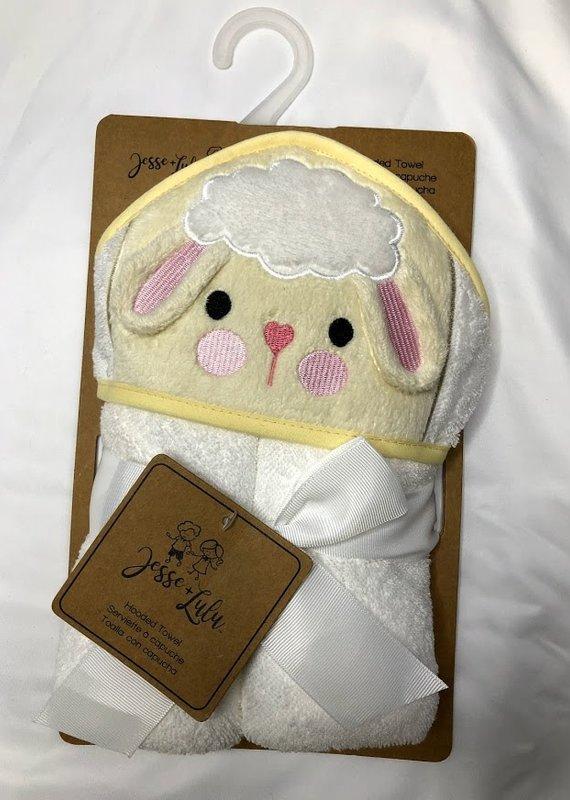 Rose Textiles Jesse-Lulu Animal Hooded Towel