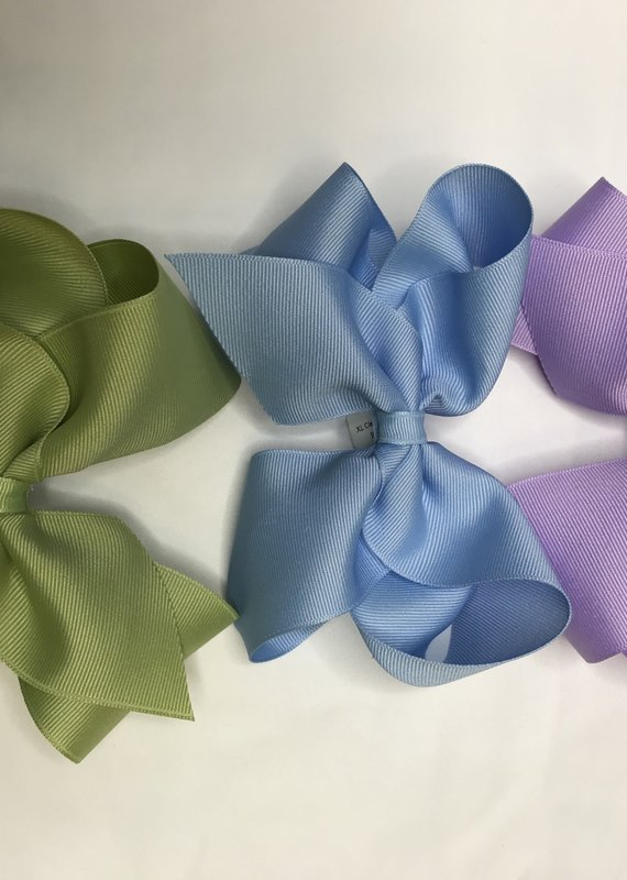 """Beyond Creations XL Classic Bows 5.5""""- Pastels"""