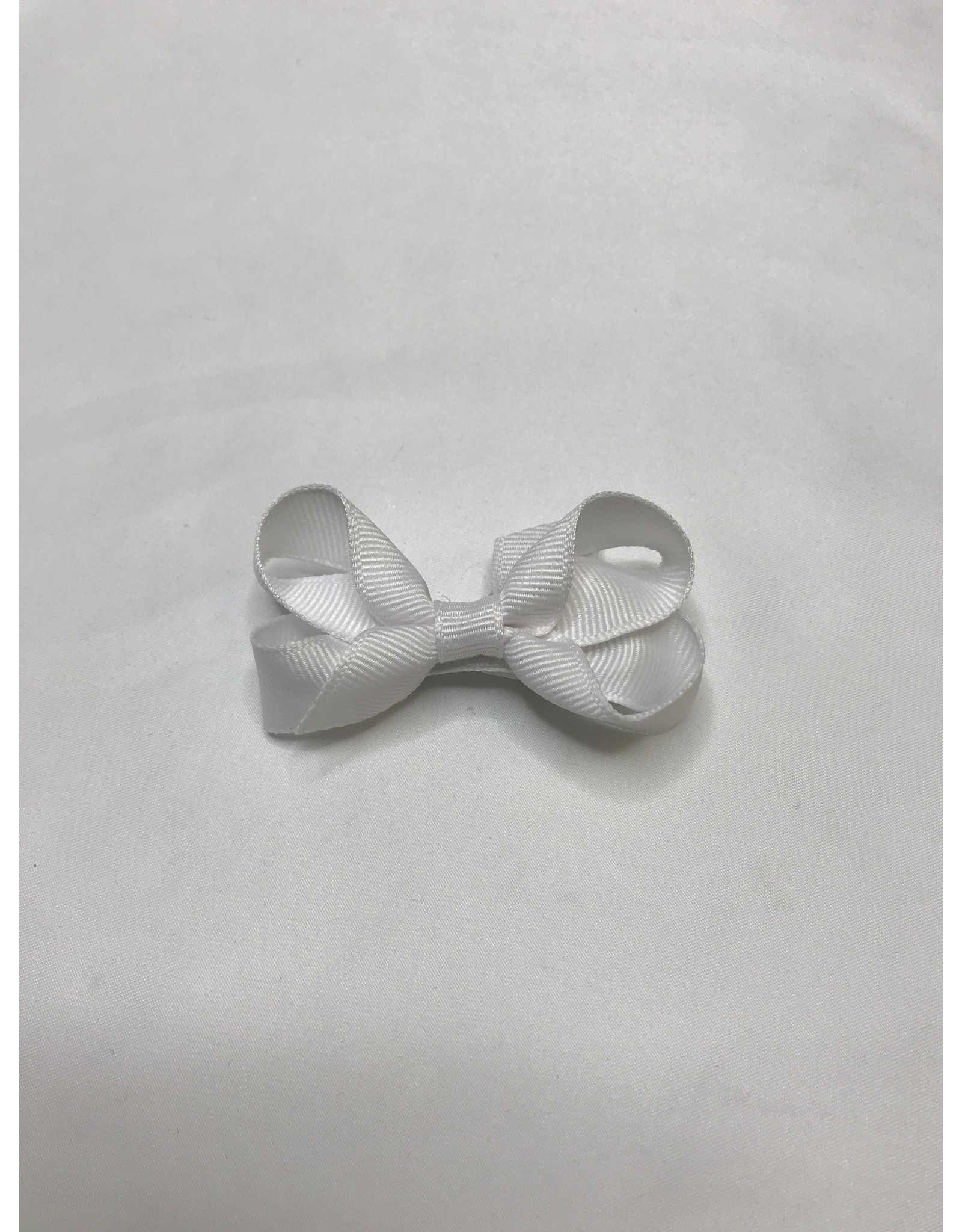 Beyond Creations Crossgrain Small Bows-White