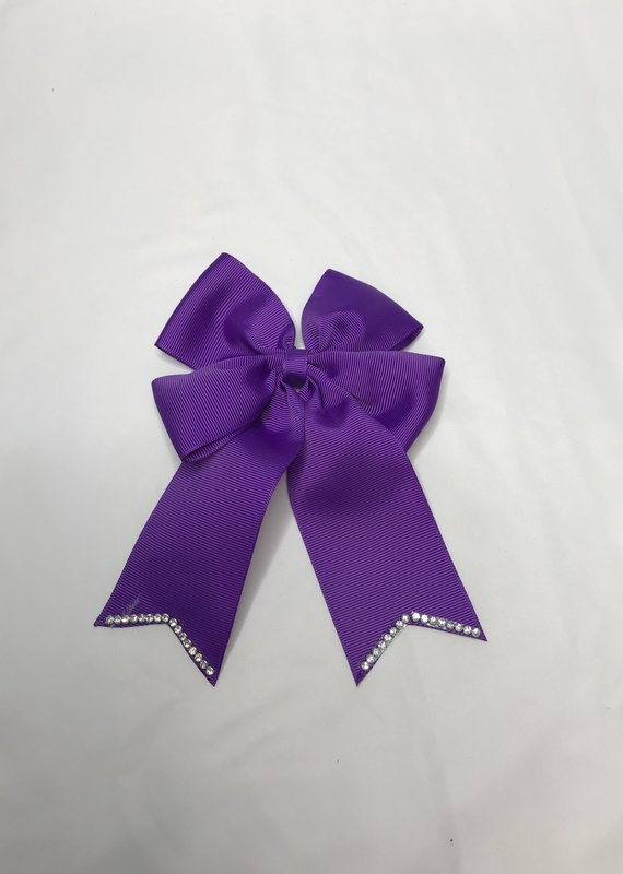 Haute Bows Long Eared Rhinestone End Bow
