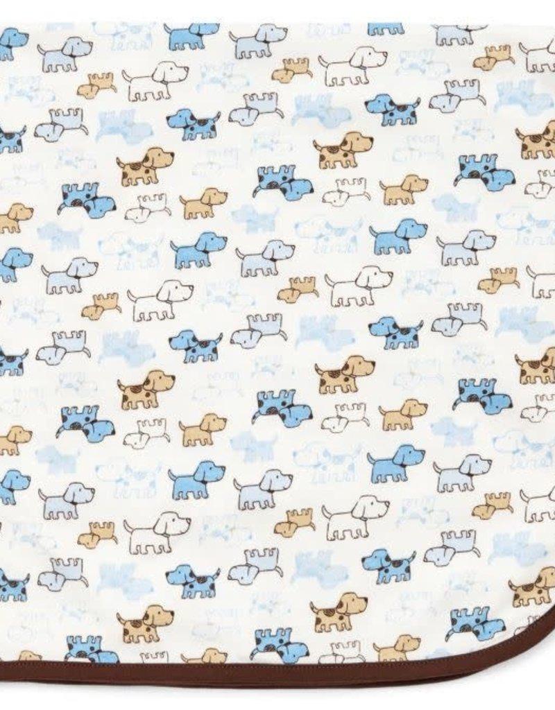 Little Me Cute Puppies Blanket