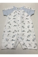 Kissy Kissy Dog's Day Out Print Playsuit-0/3M