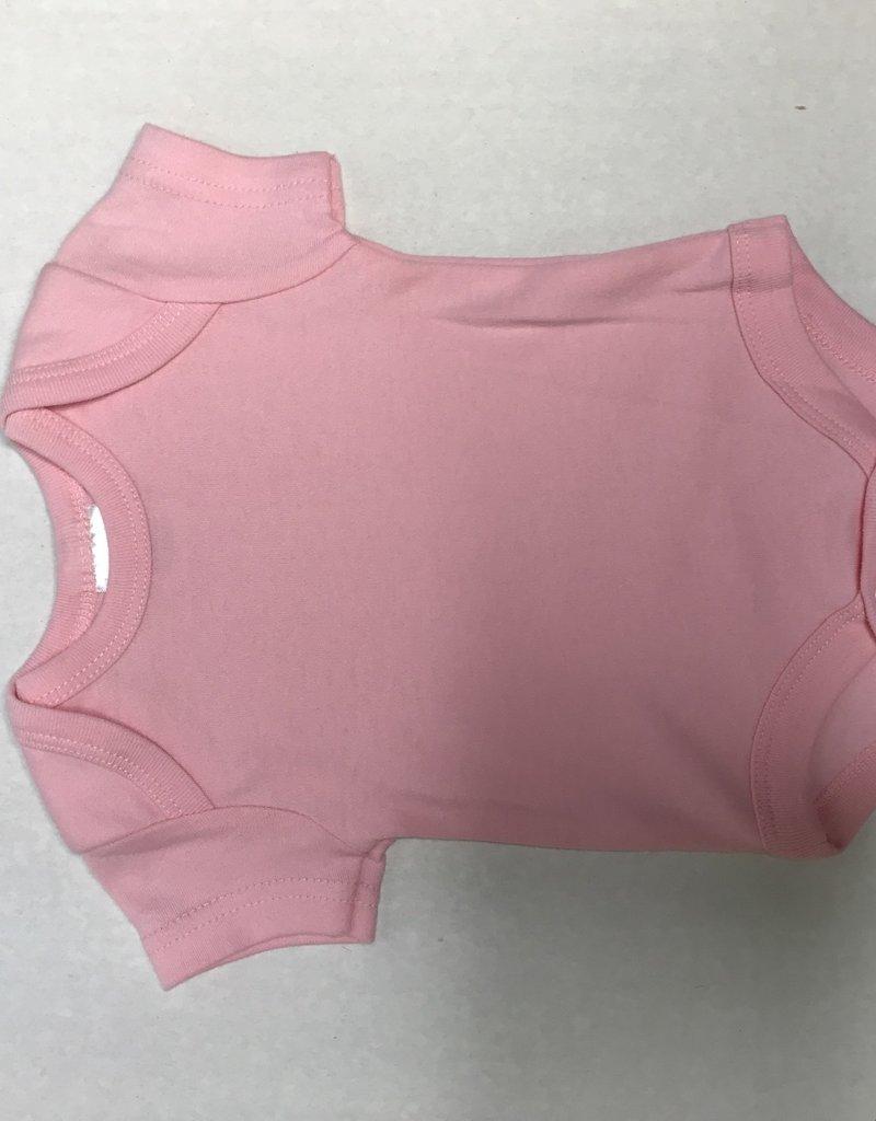 Rose Textiles 2Pk Bodysuit Hearts-0/3M