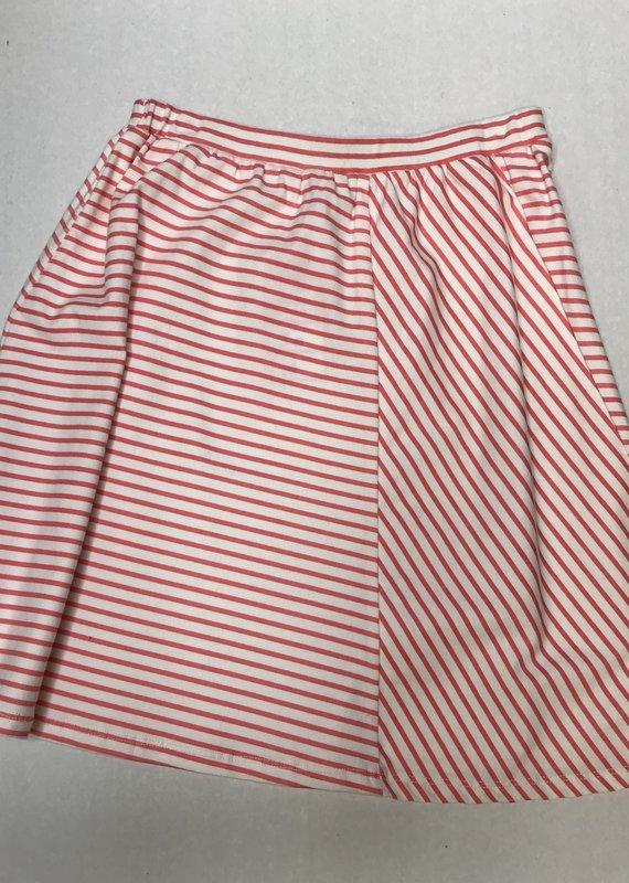 Penny Candy Oslo Skirt- Peach Stripe
