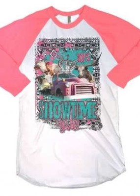 Rebel Rose Showtime Y'all Shirt