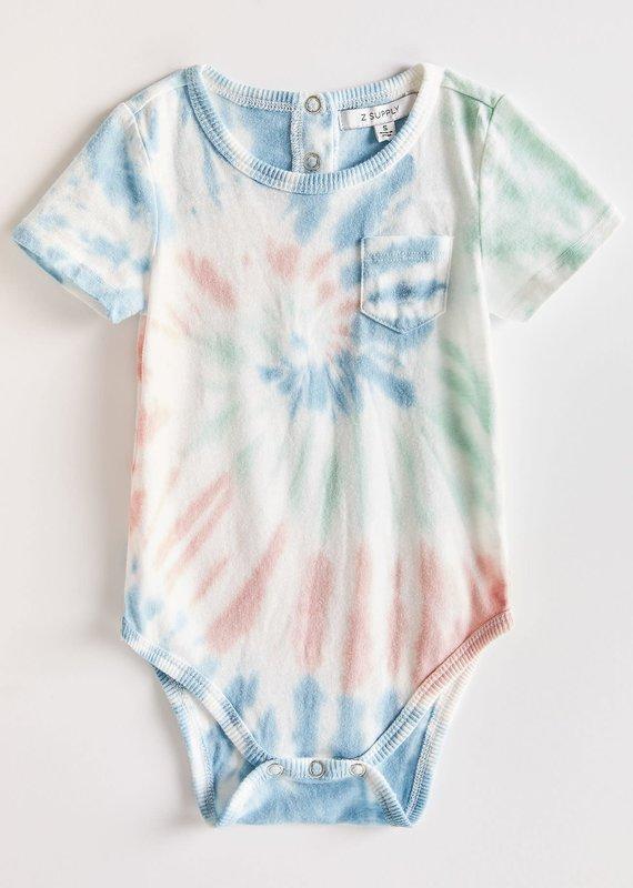 Z-Supply The Multi Color Tie Dye Onesie