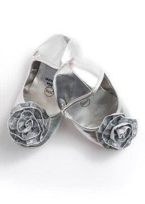 Little Adventures Princess Shoes-Silver