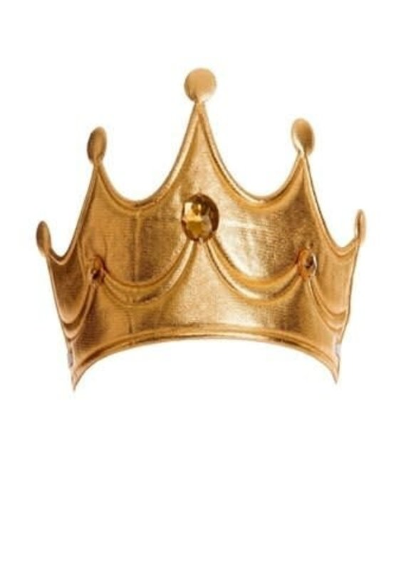 Little Adventures Princess Soft Crown-Gold