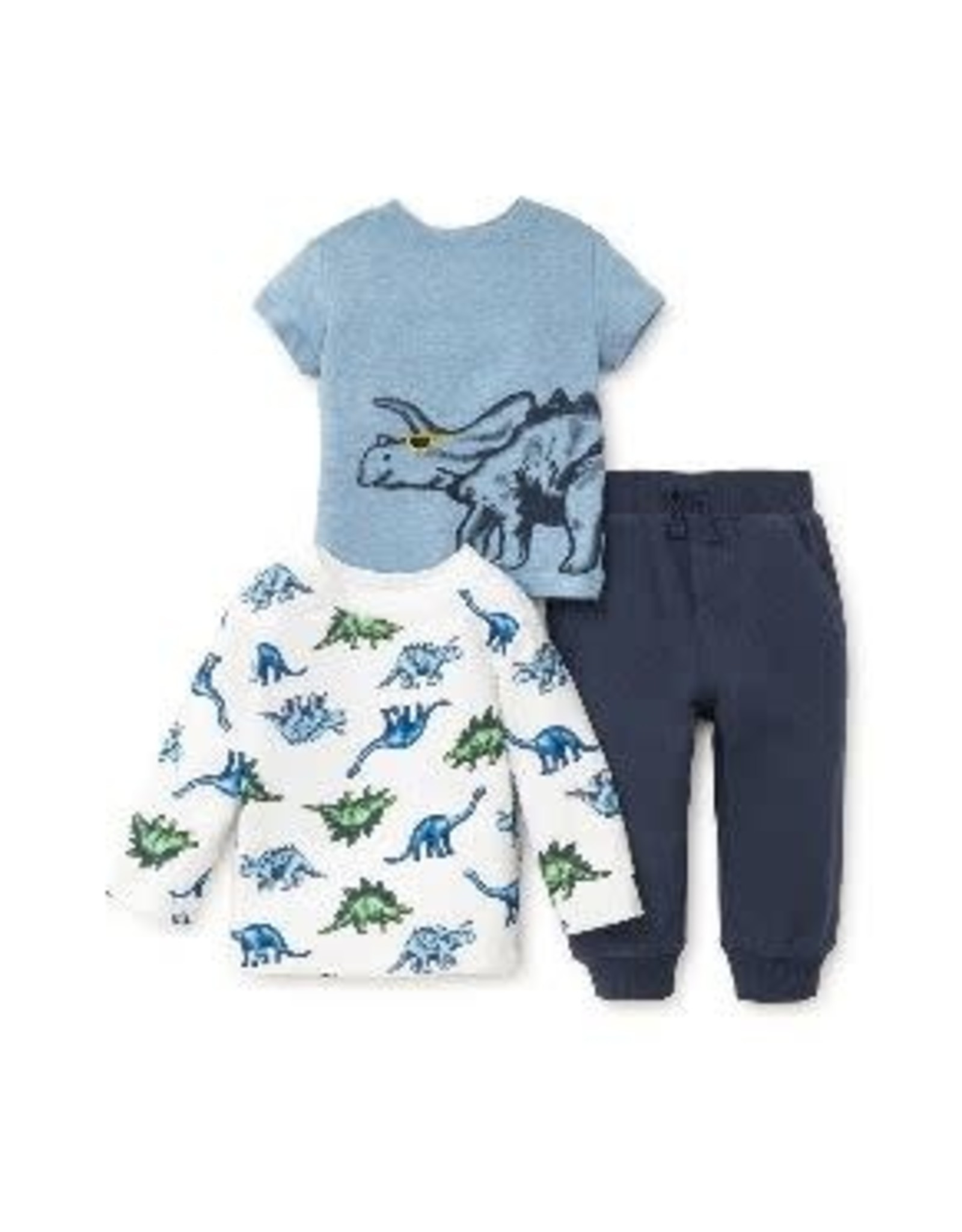 Little Me Dino 3pc Play Set-4T