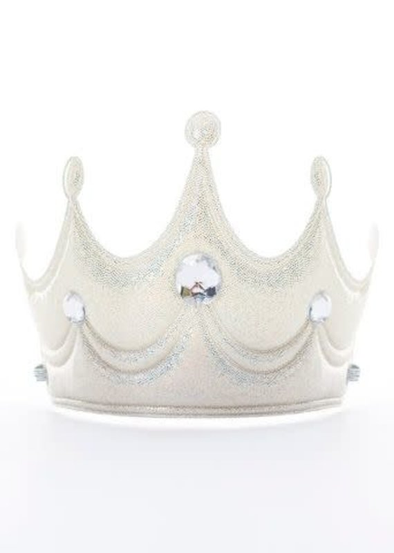 Little Adventures Princess Soft Crown-Silver