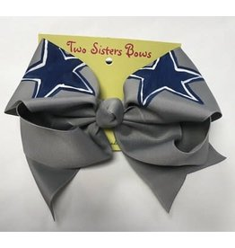 Three Sisters Dallas Cowboys XL Bow