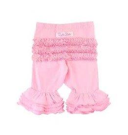 Rufflebutts Pink Ruffle Bermuda Short