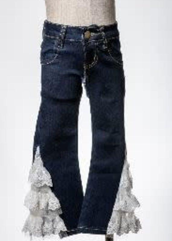 ML Kids Denim Pants with Lace