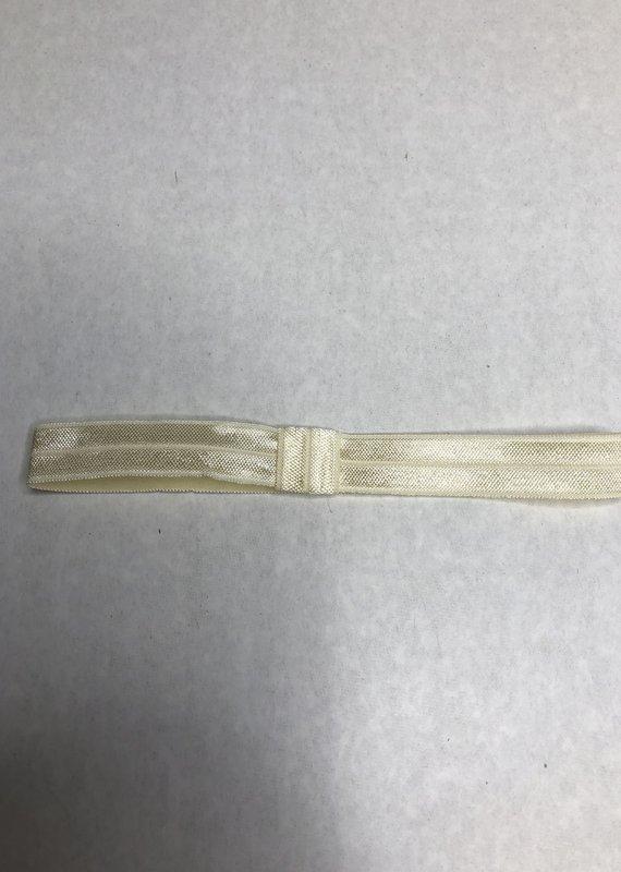 Beyond Creations Skinny Elastic Headband-Ivory