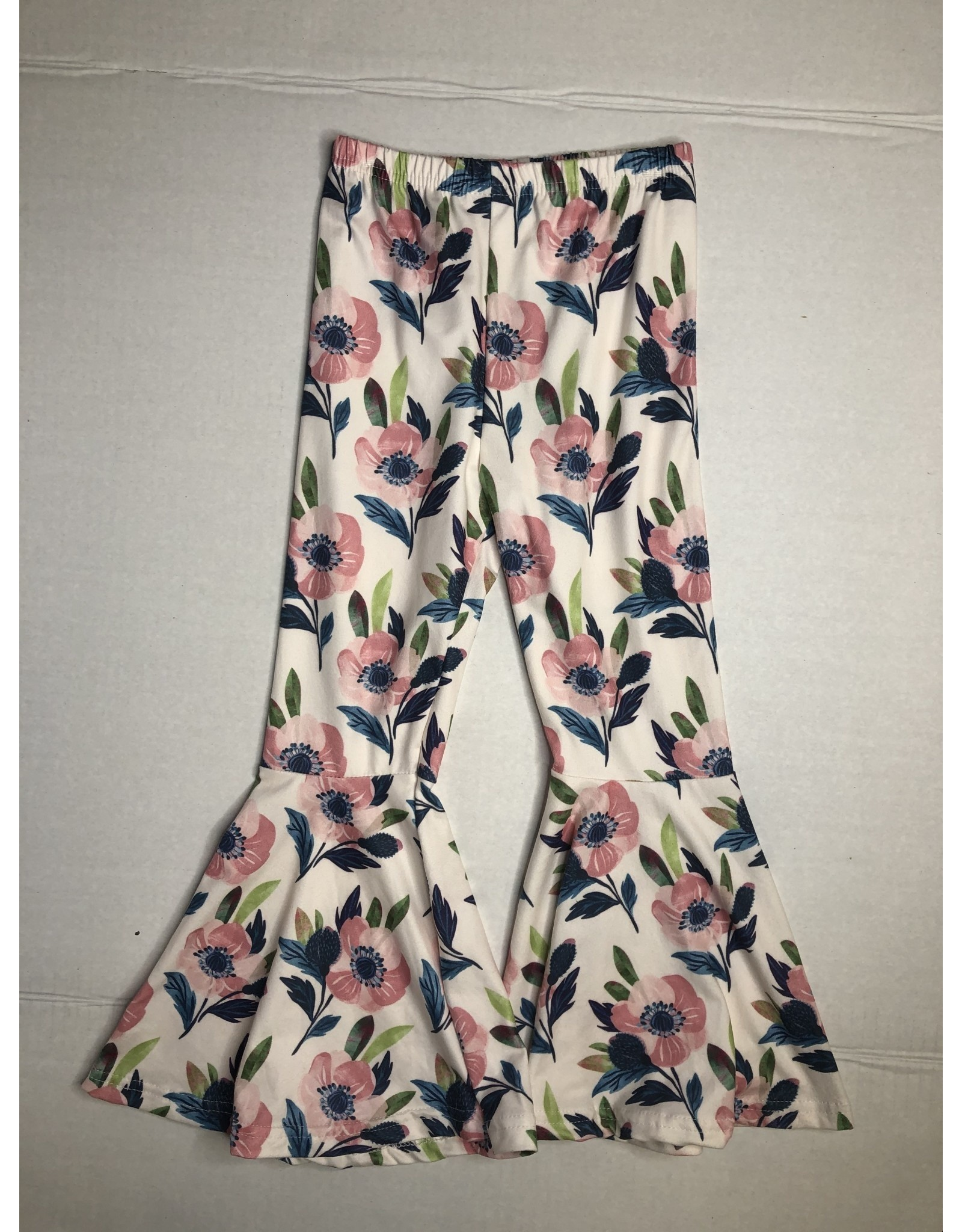Honeydew Clothing Floral Bell Bottoms