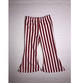 Mother Hustler, LLC Red/White Stripe Bells