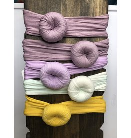 DH Gate Soft Turban Knot Headwraps