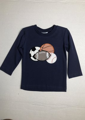 Three Sisters Sports Applique T-shirt